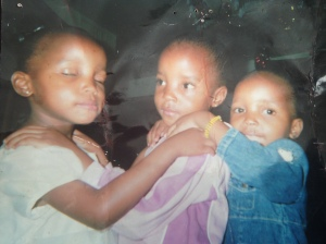 Baby Pic of 3 Sisters from my class